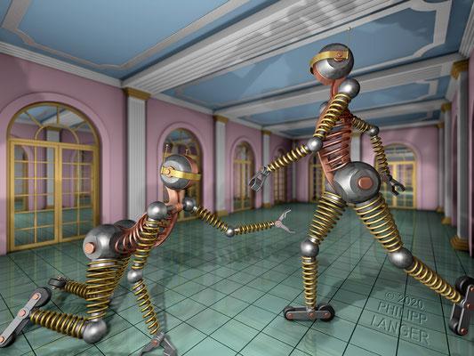 Roller-Skating Robots (2020)