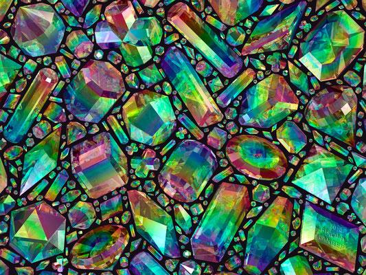 Iridescent Crystals II (2014)