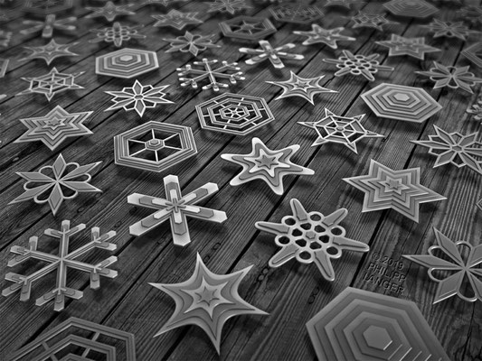 Tin Snowflakes (2019)