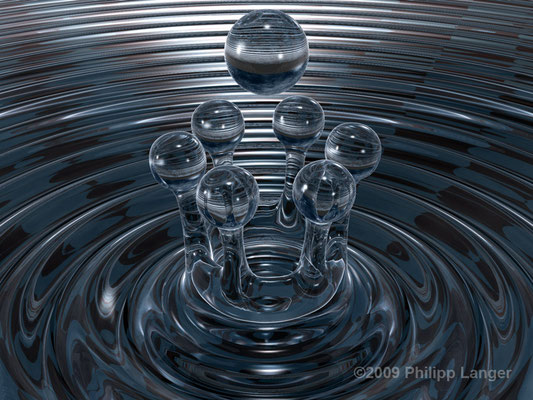 Tropfenkrone I / Crown of Drops I