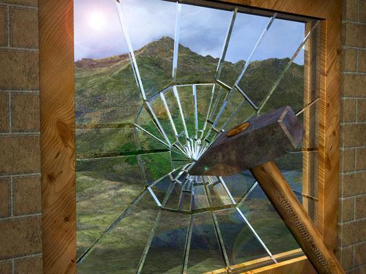 Glasbruch / Breaking Glass