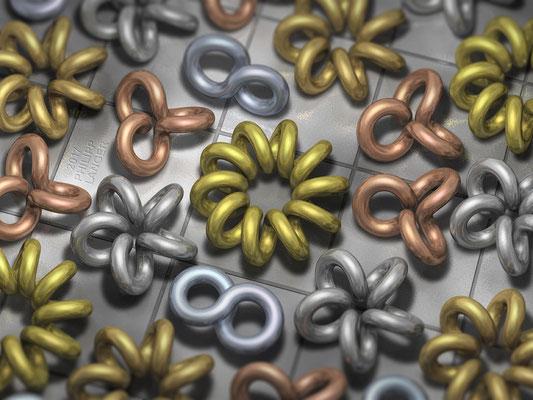 Coiled Rings of Metal (2017)