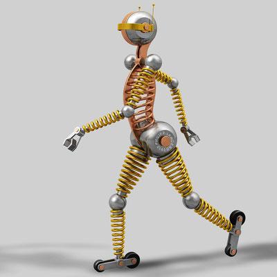 Roller Skating Robot I