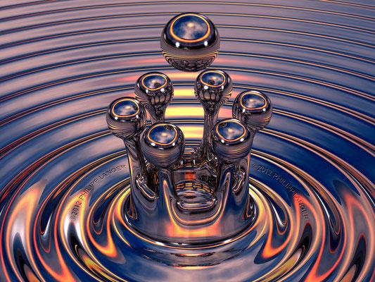 Tropfenkrone II / Crown of Drops II