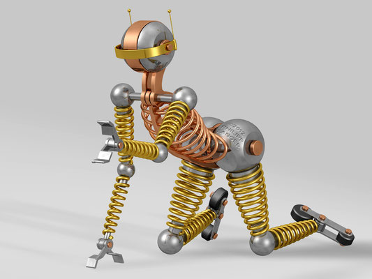 Roller Skating Robot II