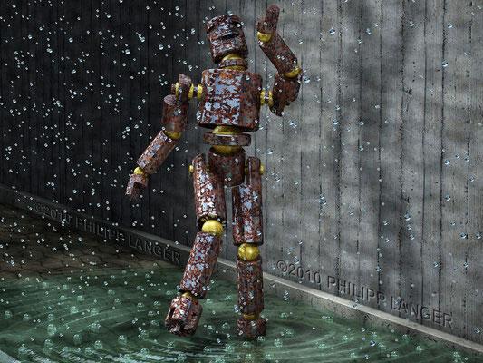 Robot in the Rain