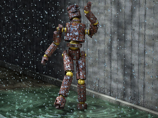 Robot in the Rain