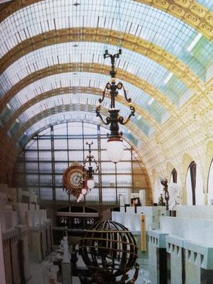 La verriere du Musée d'Orsay