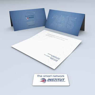 Création de la carte de vœux 2015 de l'Institut Aéronautique et Spatial (I.A.S.)