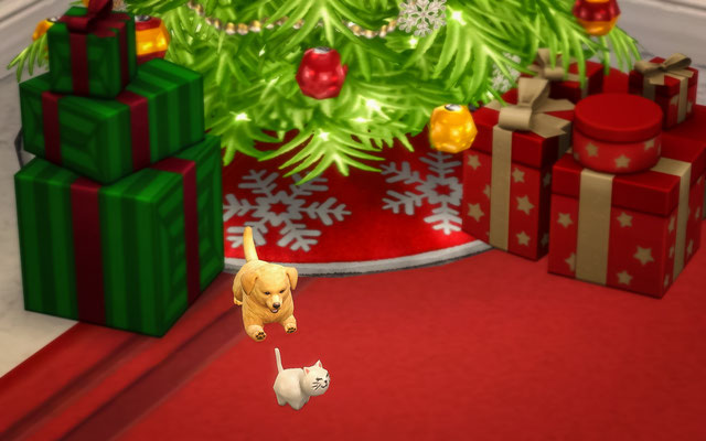 Sims 4 Christmas Poses.Sims 4 Custom Content Cloudninekennels