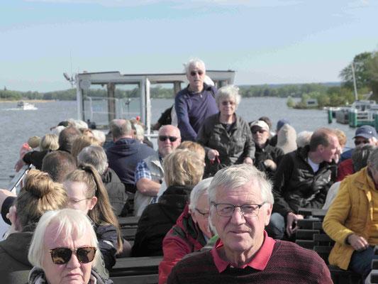 Mit dem Dampfer zurück nach Potsdam