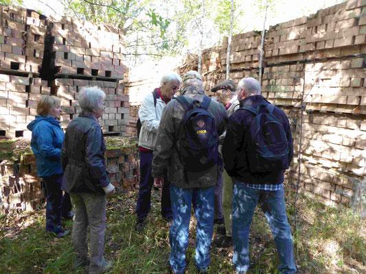 Alte Ziegelsteinproduktion in Klaustorf