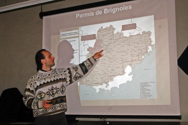 conférence à Sillans avec Julien Beltramo