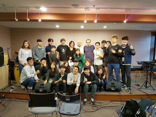 Workshop @Keimyung University, Daegu / Südkorea Tour 2016