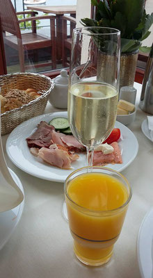 Frühstück Hotel Hohe Düne
