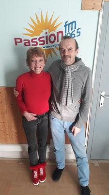 Zenel Laci et Jacqueline Corbisier