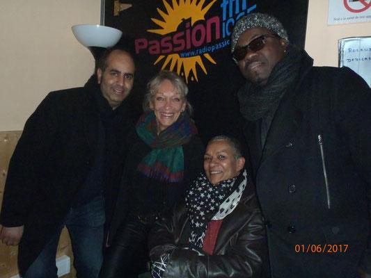 Jamal, Jacqueline Corbisier, Caron et François Kency