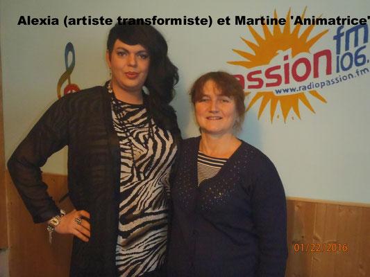 Alexia et Martine