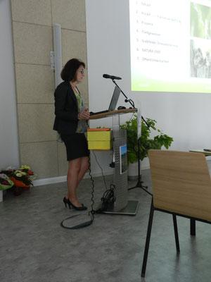 Geschäftsführerin Verena Volkmar