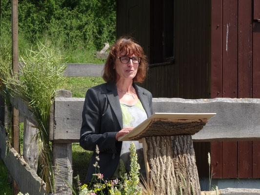 Stations-Chefin Verena Volkmar