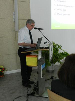 1. Vorstandsvorsitzender Norbert Wirsching
