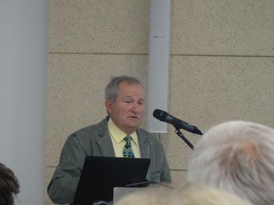 Gründungs- und Vorstandsmitglied Dr. Walter Rußwurm