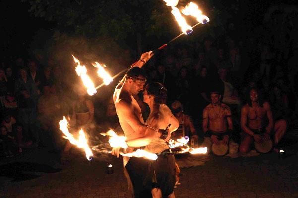 Feuergruppe Haganai, Nachts im Zoo, Münster