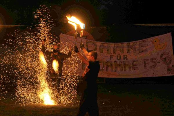 Die Nordlichter und Pyrometheus, Galashow FS CON 2017