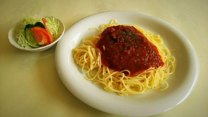 ミ-トスパゲティ 650円