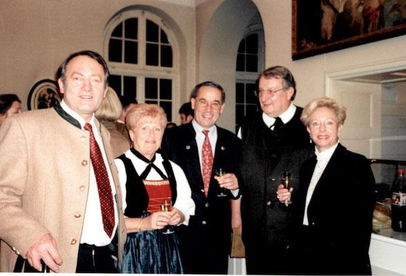 Sepp Scheibl, Renate Harant, Gerhard Buchleitner und Horst Deutl