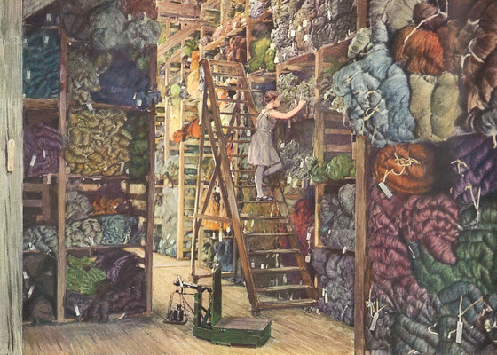 """Bildquelle: """"50 jahre Halbmond-Werke"""", Oelsnitz V., 1930"""