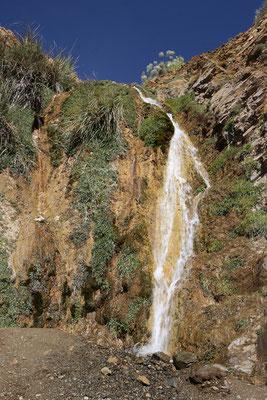 Wasserfall an der Passstraße zum Tizi-nTest-Pass