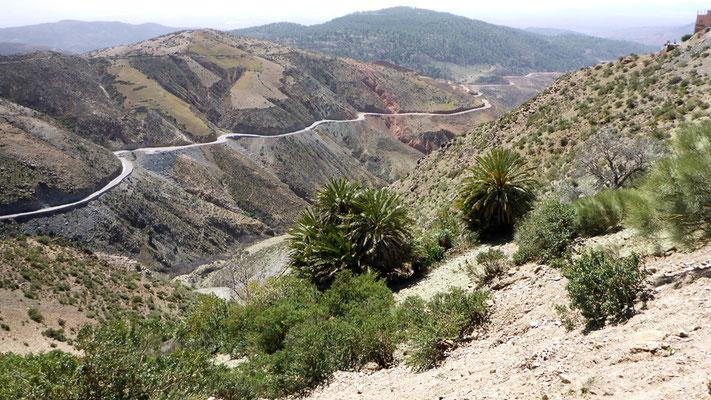 Passstraße zum Tizi-nTest-Pass