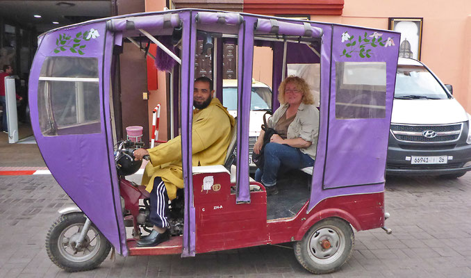 Transport a la Marrakesch