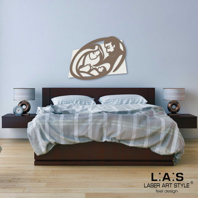 Sacred wall sculptures </br> Code: SI-325M | Size: 40x30 cm </br> Code: SI-325L | Size: 65x50 cm </br> Code: SI-325XL | Size: 90x70 cm </br> Colour: cream-dove grey