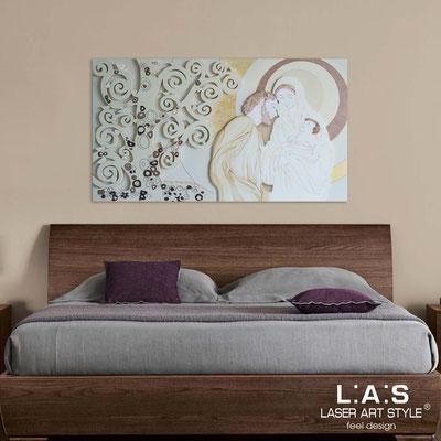 Sacred wall sculptures </br> Code: SI-173 | Size: 125x70 cm </br> Colour: cream-sand-golden decoration