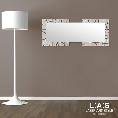 Mirrors </br> Code: MG-095SP | Size: 134x54 cm </br>  Colour: grey wood-inox steel