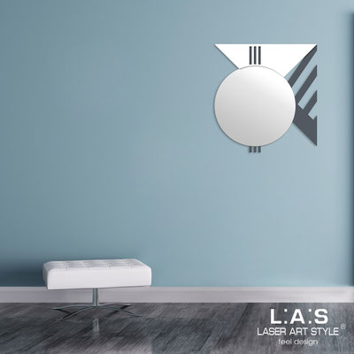 Mirrors </br> Code: SI-357 | Size: 70x75 cm </br>  Colour: charcoal grey-white