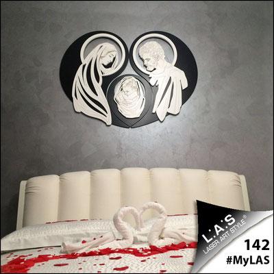 A casa di Giuseppe e Nadia   Italia </br> Codice: SI-266-SF   Misura: 120x90 cm </br> Colore: nero-bianco-incisione legno