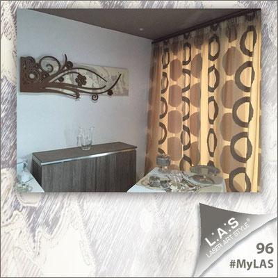 A casa di Lorena <br> Abitazione privata | Italia </br> Codice: SI-106 | Misura: 148x60 cm <br> Colore: sabbia - applicazione grigio marrone