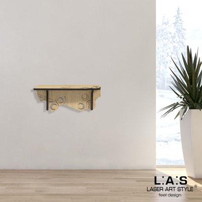 Complementi d'arredo </br> Codice: W-416 | Misura: 60x30 cm </br> Colore: natural wood
