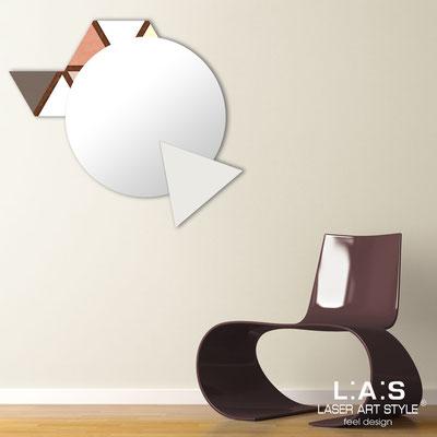 Mirrors </br> Code: SI-205Q-SP | Size: 82x73 cm </br>  Colour: vintage colors decoration-cream-wood engraving