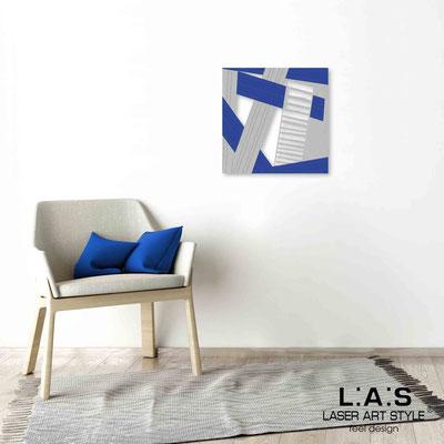 Quarantotto </br>  Code: Q-018 | Size: 48x48 cm </br> Colour: grey-blue decoration-wood engraving