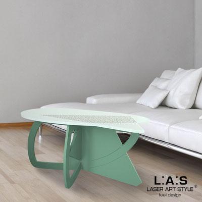 Complementi d'arredo </br> Codice: SI-372 | Misura: 100x60 h50 cm </br> Colore: verde chiaro-salvia-incisione legno