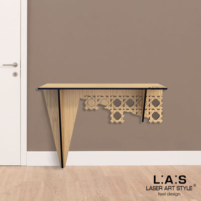 Furnishings </br> Code: W-407   Size: 120x40 h80 cm </br> Colour: natural wood