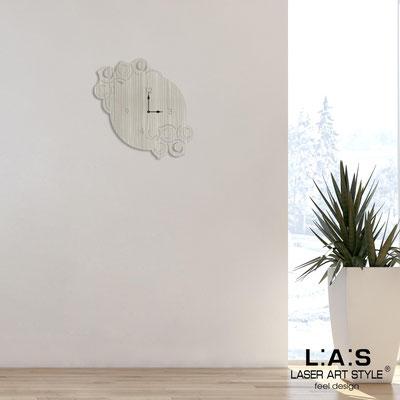 Wall clocks </br> Code: G-426 | Size: 55x55 cm </br> Colour: grey wood
