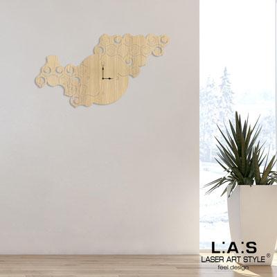 Orologi </br> Codice: W-426L | Misura: 100x60 cm </br>  Colore: natural wood