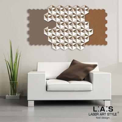 Quadri Astratti </br> Codice: SI-142 | Misura: 125x70 cm </br> Colore: grigio marrone-bronzo-bianco-incisione legno