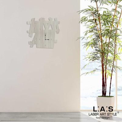Wall clocks </br> Code: G-393 | Size: 65x60 cm </br> Colour: grey wood