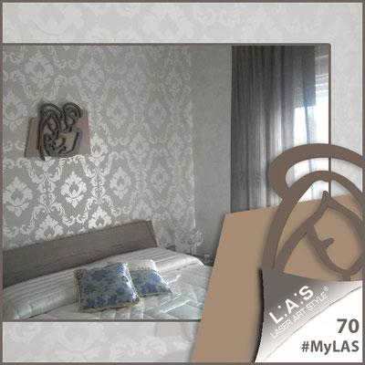 A casa di Antonella <br> Abitazione privata | Italia </br> Codice: SI-228L | Misura: 65x50 cm </br> Colore: nocciola - grigio marrone